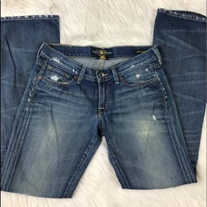 Lucky Brand Distressed Zoe Boot Jeans Size 4/27